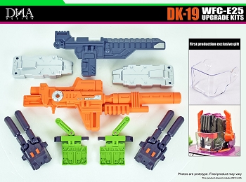 DNA Design DK-19 WFC-E25 Upgrade Kits